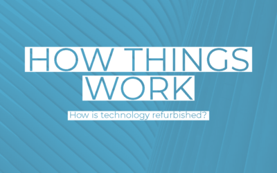 How is technology refurbished?