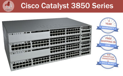 JUNE PROMOTION! – Cisco Catalyst 3850 Series