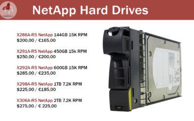 Special offer for NetApp Hard Drives!