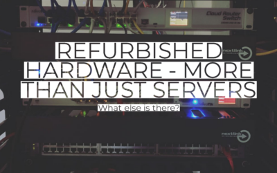 Refurbished hardware – more than just servers
